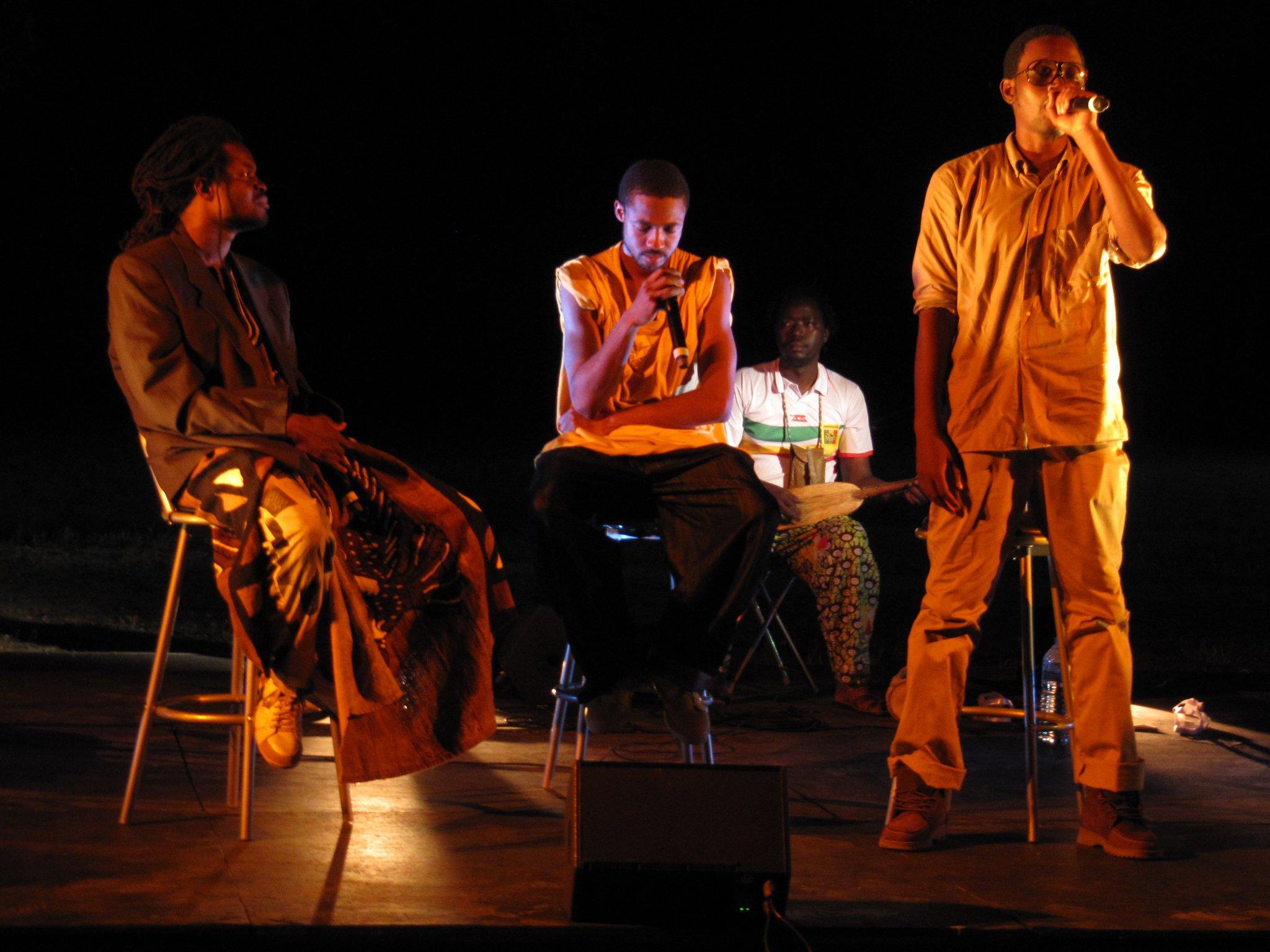 Théâtre musical hip hop – Bama saba