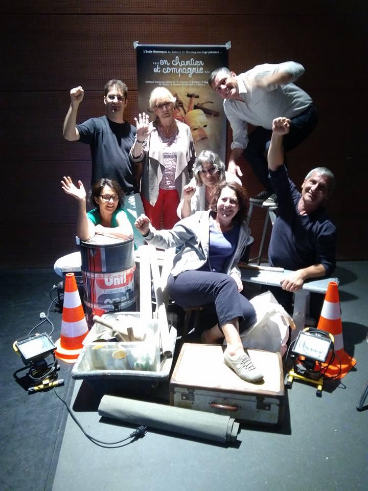 Ecole municipale de théâtre de Morsang sur Orge (Cours enfants, ados, adultes)
